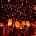 【ラプンツェルの世界】チェンマイでロイクラトン・コムローイ・イーペン祭りを無料で楽しむ方法【幻想的】